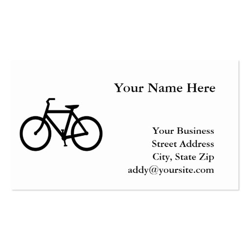 Bicycle Business Card