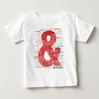 自閉症およびそんなに多く ベビーTシャツ