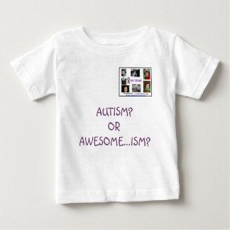 自閉症か。 または素晴らしい…主義か。 ベビーTシャツ