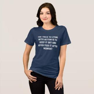 自閉症との生存 Tシャツ