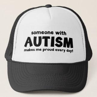 自閉症との誰かは私を誇りを持ったに毎日させます キャップ