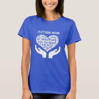 自閉症のお母さん Tシャツ