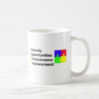 自閉症のための希望 コーヒーマグカップ