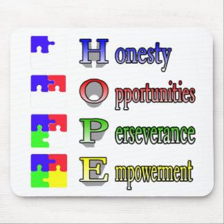 自閉症のための希望 マウスパッド