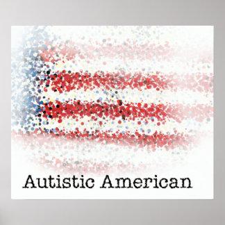 自閉症のアメリカポスター ポスター