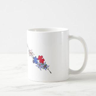 自閉症のコーヒーカップ コーヒーマグカップ