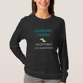 自閉症のプライドのワイシャツ Tシャツ