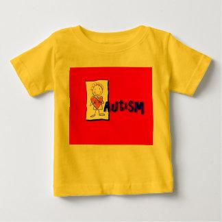 自閉症のワイシャツ ベビーTシャツ