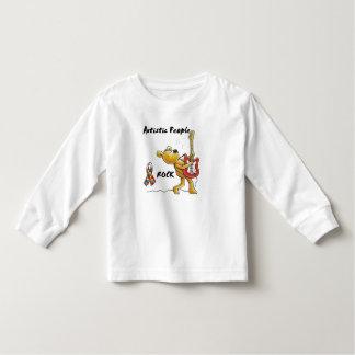 自閉症の人々の石 トドラーTシャツ