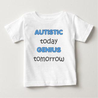 自閉症の今日の天才TOMORROW-BOYS ベビーTシャツ