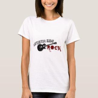 自閉症の子供の石 Tシャツ