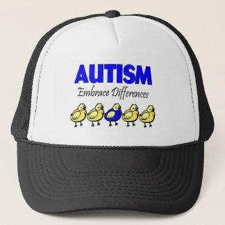 自閉症の容認の相違 キャップ