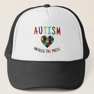 自閉症の容認パズル キャップ