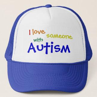 自閉症の帽子 キャップ
