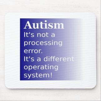 自閉症の引用文 マウスパッド