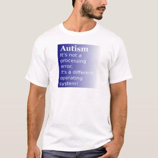 自閉症の引用文 Tシャツ