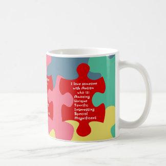自閉症の折句 コーヒーマグカップ