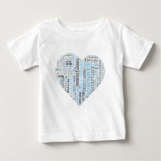 自閉症の理解の受諾プロダクト ベビーTシャツ