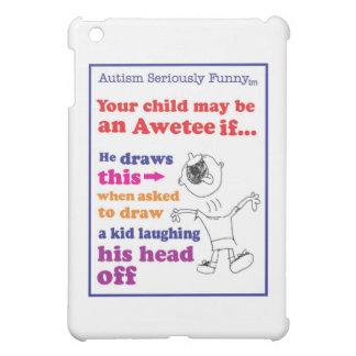 自閉症の真剣におもしろいな商品 iPad MINIケース