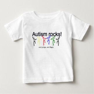 自閉症の石! ベビーTシャツ