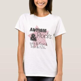 自閉症の石 Tシャツ