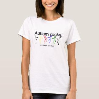 自閉症の石! Tシャツ