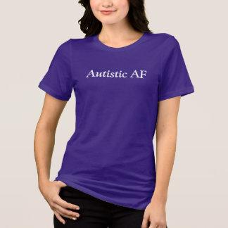 自閉症の確実 Tシャツ