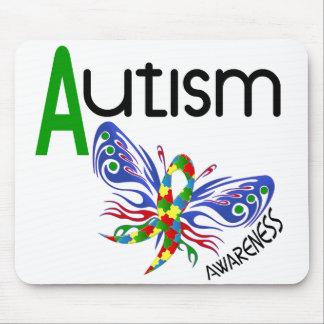 自閉症の蝶3.1 マウスパッド