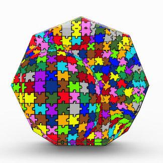 自閉症の複雑なゆがみ 表彰盾