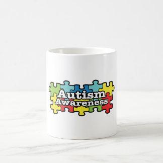自閉症の認識度のマグ コーヒーマグカップ