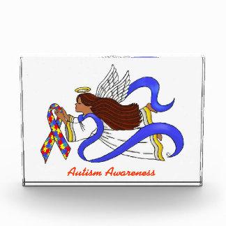 自閉症の認識度の民族の天使 表彰盾