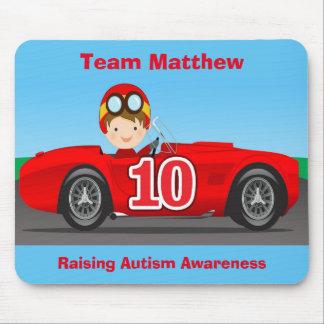 自閉症の認識度を上げているチームMatthew マウスパッド