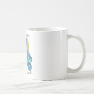 自閉症の認識度象 コーヒーマグカップ