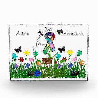 自閉症の認識度賞 表彰盾