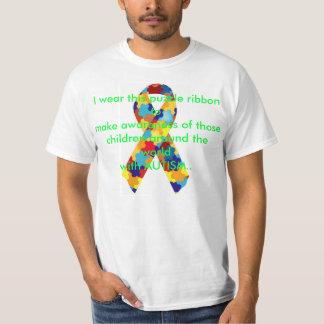 自閉症の認識度1 Tシャツ