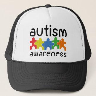 自閉症の認識度 キャップ