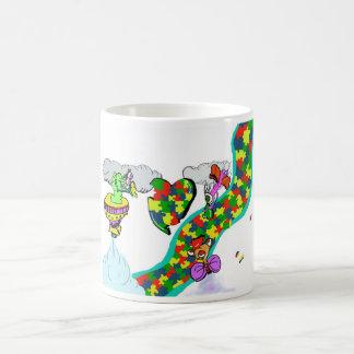 自閉症の認識度 コーヒーマグカップ