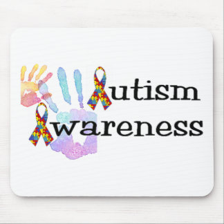 自閉症の認識度 マウスパッド