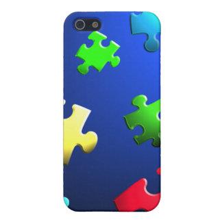 自閉症の認識度Iの電話箱 iPhone SE/5/5sケース