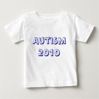 自閉症の2010年のワイシャツ ベビーTシャツ