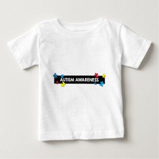 自閉症のTシャツ ベビーTシャツ