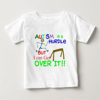 自閉症はハードル少年です ベビーTシャツ