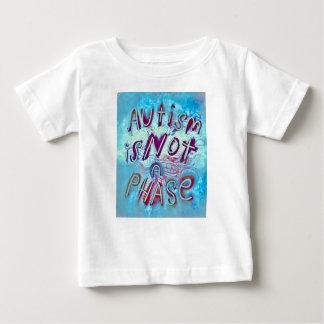 自閉症は段階ではないです ベビーTシャツ