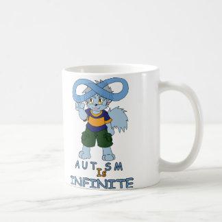自閉症は無限マグです コーヒーマグカップ