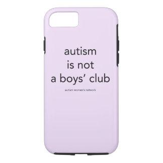 自閉症は男の子のクラブではないです: smartphoneの場合 iPhone 8/7ケース