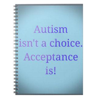 自閉症は選択ではないです ノートブック