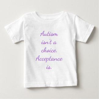 自閉症は選択ではないです ベビーTシャツ
