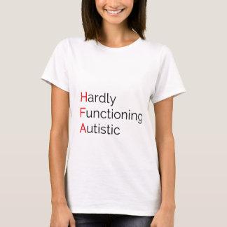 自閉症ほとんど作用 Tシャツ