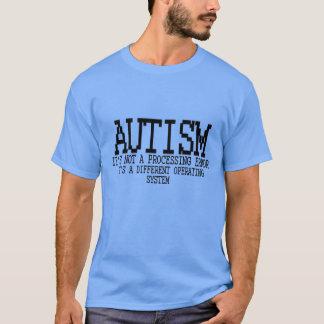 自閉症オペレーティングシステム.png tシャツ
