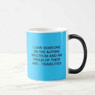 自閉症スペクトルのマグ モーフィングマグカップ